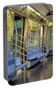 New York City Empty Subway Car Portable Battery Charger