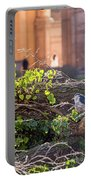 Night Heron At The Palace Portable Battery Charger by Kate Brown