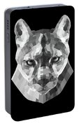 Night Mountain Lion Portable Battery Charger