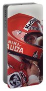Niki Lauda. 1976 United States Grand Prix Portable Battery Charger