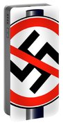 No Nazi Street Sign Portable Battery Charger
