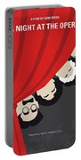 No1053 My A Night At The Opera Minimal Movie Poster Portable Battery Charger