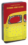 No1072 My Bonnie And Clyde Minimal Movie Poster Portable Battery Charger