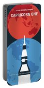 No1078 My Capricorn One Minimal Movie Poster Portable Battery Charger