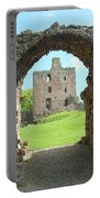 Norham Castle And Entrance Gate Portable Battery Charger