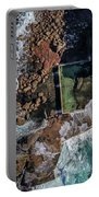 North Curl Curl Headland And Pool Portable Battery Charger by Chris Cousins