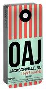 Oaj Jacksonville Luggage Tag I Portable Battery Charger