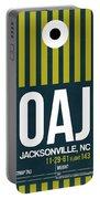 Oaj Oaj Jacksonville Luggage Tag I Luggage Tag I Portable Battery Charger