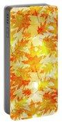 Oak Leaf Pattern Portable Battery Charger