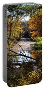 October Window Portable Battery Charger by Kendall McKernon