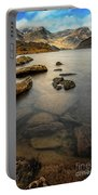 Ogwen Lake Snowdonia Portable Battery Charger by Adrian Evans