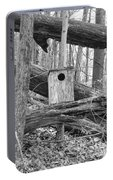 Old Birdhouse Portable Battery Charger