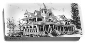 Old Daly Mansion Hamilton Montana Portable Battery Charger