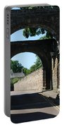 old historic town gate in Hexham Portable Battery Charger