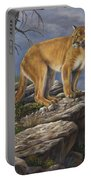 On The Hunt Portable Battery Charger by Kim Lockman