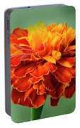 Orange Marigold Portable Battery Charger