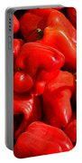 Organic Red Peppers Portable Battery Charger