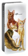 Oriental Shorthair Portable Battery Charger