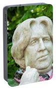 Oscar Wilde Statue One  Portable Battery Charger