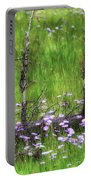 Overcome With Beauty Portable Battery Charger by Rick Furmanek