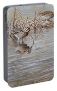 Pair Of Snipe By Alan M Hunt Portable Battery Charger