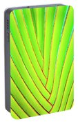 Palms And Fronds - Hawaii Portable Battery Charger