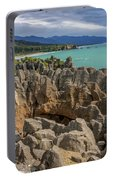 Pancake Rocks - New Zealand Portable Battery Charger