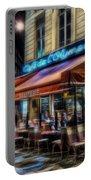 Paris Cafe Portable Battery Charger
