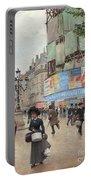 Paris, Rue Du Havre Circa 1882 Portable Battery Charger