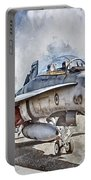 Parked Hornet Portable Battery Charger by Brad Allen Fine Art