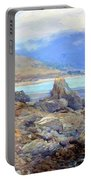 Path Along The Shore Portable Battery Charger