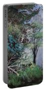 Path Thru The Woods Portable Battery Charger