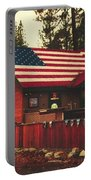 Patriotic Bar And Grill Portable Battery Charger