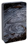 Patterns In Ice Portable Battery Charger