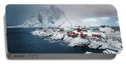 Peace Of Winter Portable Battery Charger