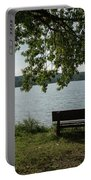 Peaceful Bench Portable Battery Charger