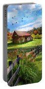 Peaceful Country Morning Portable Battery Charger