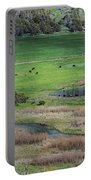Peaceful Farm In Durango Portable Battery Charger