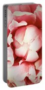 Peach Peony Portable Battery Charger