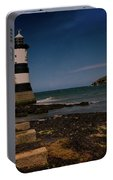 Penmon Lighthouse And Puffin Island Portable Battery Charger