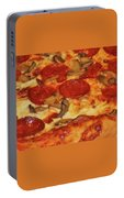 Pepperoni Pizza Mushrooms Portable Battery Charger