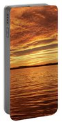 Percy Priest Lake Sunset Portable Battery Charger