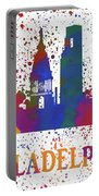 Philly Color Splash Portable Battery Charger