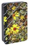 Phoenix Arizona Papago Park Blue Sky Red Rocks Scrub Vegetation Yellow Flowers 3182019 5327 Portable Battery Charger