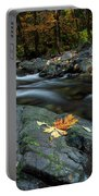 Pieces Of Autumn Portable Battery Charger