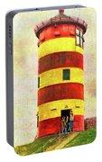 Pilsum Lighthouse Leuchtturm  Portable Battery Charger
