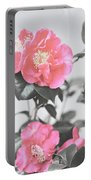 Pink Camellia. Shabby Chic Collection Portable Battery Charger