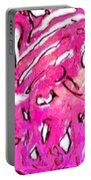 Pink Love Portable Battery Charger