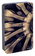 Plantains 2  Sepia Portable Battery Charger