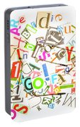 Play On Golf Words Portable Battery Charger